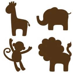 animal silhouettes templates template animal silhouette scissor type