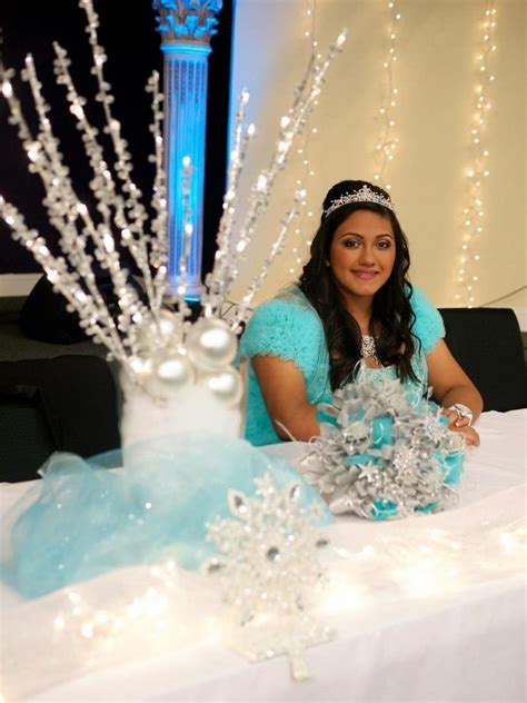 quinceanera themes for winter winter wonderland theme sweet 15 my daughter s winter