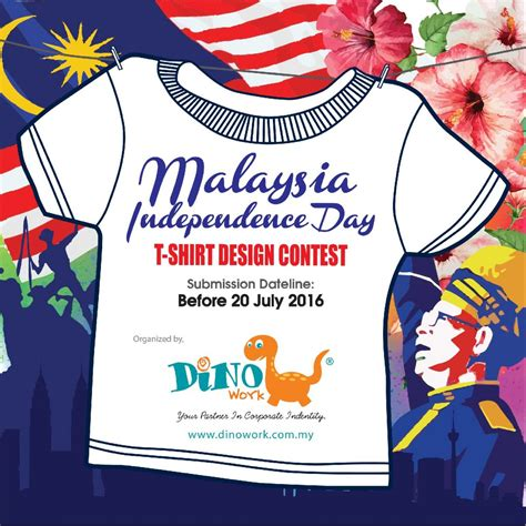design contest in malaysia t shirt design contest poster dino work sdn bhd johor