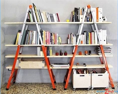 Top 10 Unique Diy Bookshelf Projects Top Inspired Ladder Bookcase Diy