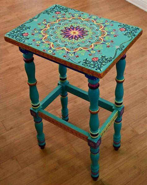 different ways to paint a table 25 best ideas about bohemian painting on pinterest