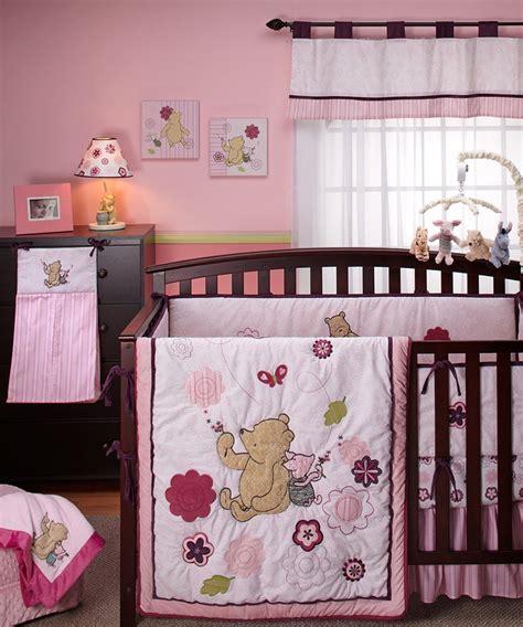 crown crafts bedding shop crown crafts classic pooh dandelion dreamer nursery set