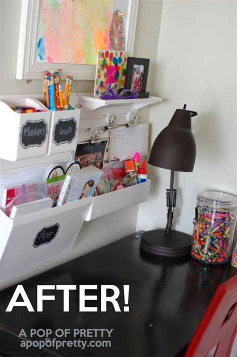 homework desk ideas best 25 kids desk organization ideas on pinterest study