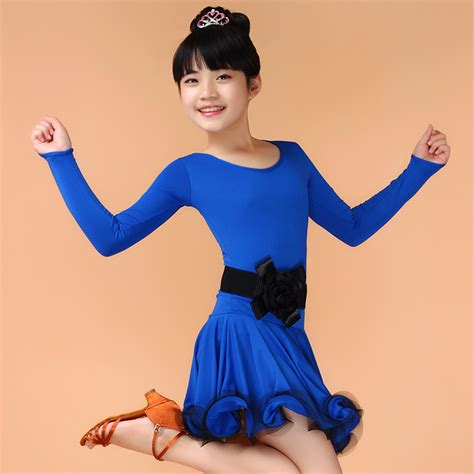 child cheap dresses costume ballroom salsa dress for