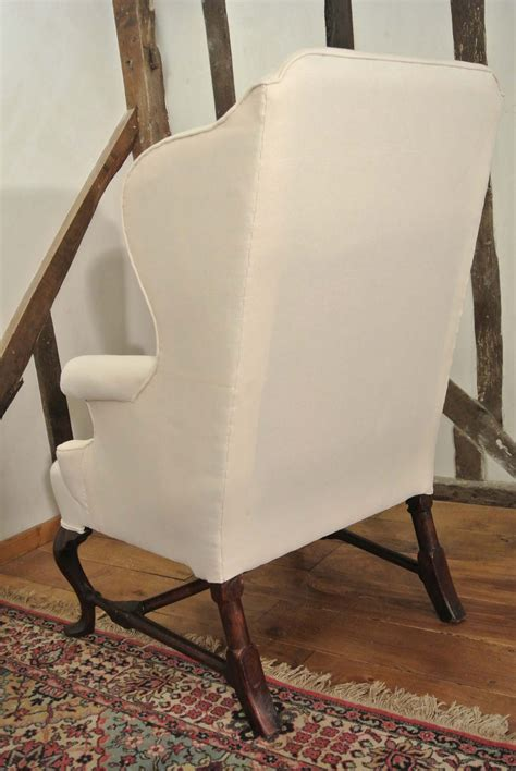 18th century antique reclining wing arm chair at 1stdibs 18th century queen anne wing arm chair antiques atlas
