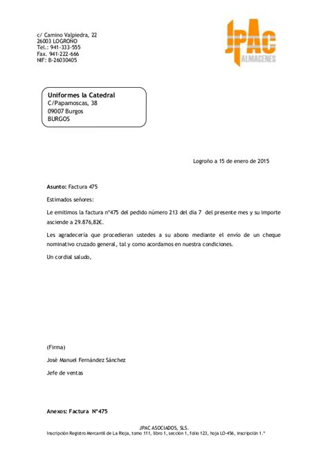 modelos de facturas 2015 15 01 2015 carta factura 475 uniformes