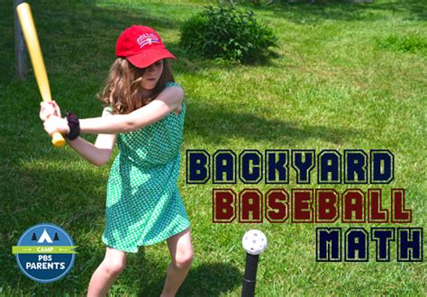 backyard sports kids backyard baseball math activities for kids adventures
