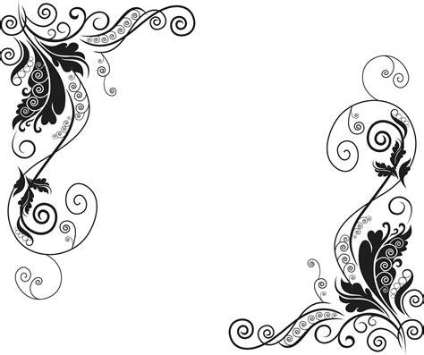 imagenes en vectores para illustrator gratis florales vector gratis dos ornamentos decorativos