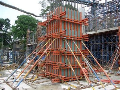 concrete formwork removal time, specifications and