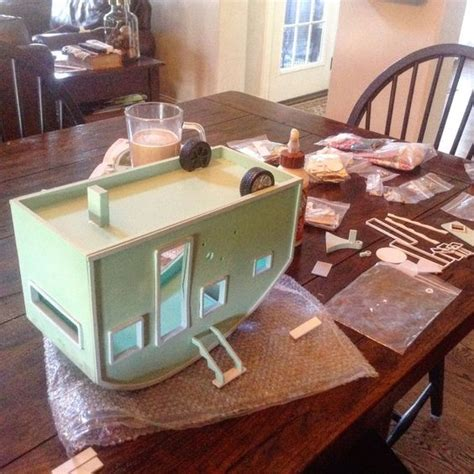 doll house trailer diy miniature tiny trailer dollhouse pinterest miniature read more and trailers
