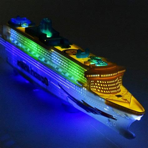 toy boat ocean boat toys cruise ship model automatic ocean liner with