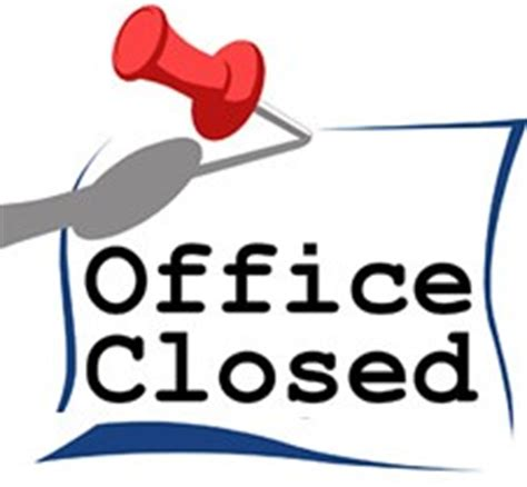 office closed sign clip art (17+)