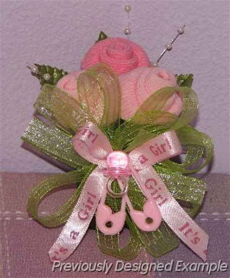 Unique Baby Shower Corsages by 25 Best Ideas About Baby Sock Corsage On Baby