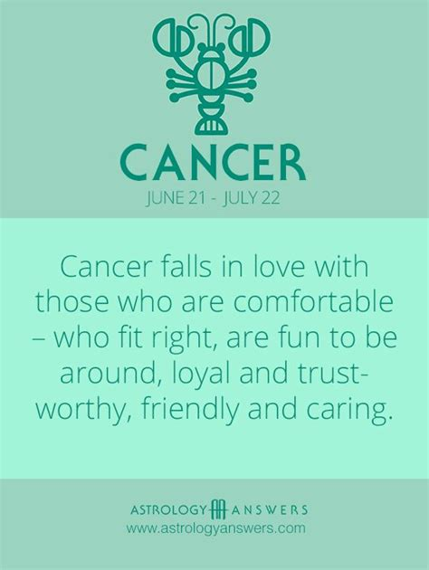 25 best ideas about cancer zodiac personality on
