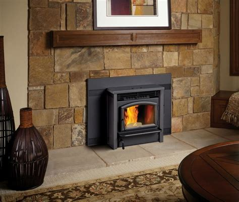 Travis Fireplace by Lopi Agp Pellet Insert Transitional Indoor Fireplaces
