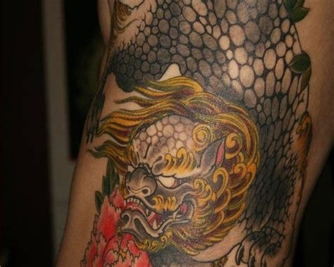 traditional foo dog tattoo designs 40 foo designs for you