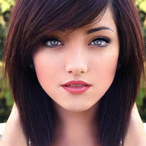 short hair cuts with dark brown color with carmel highlights 25 short haircuts and colors short hairstyles 2017