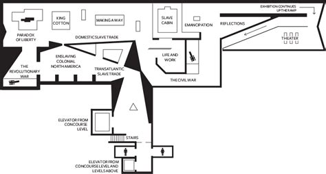 Ground Floor Plans by Museum Maps National Museum Of African American History