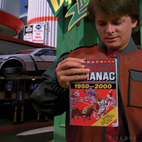 grays sports almanac back to the future 2 books back to the future grays sports almanac the