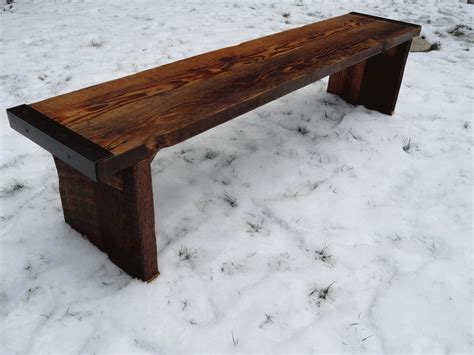 how to put legs on a bench 6 ft industrial bench with wood legs etsy