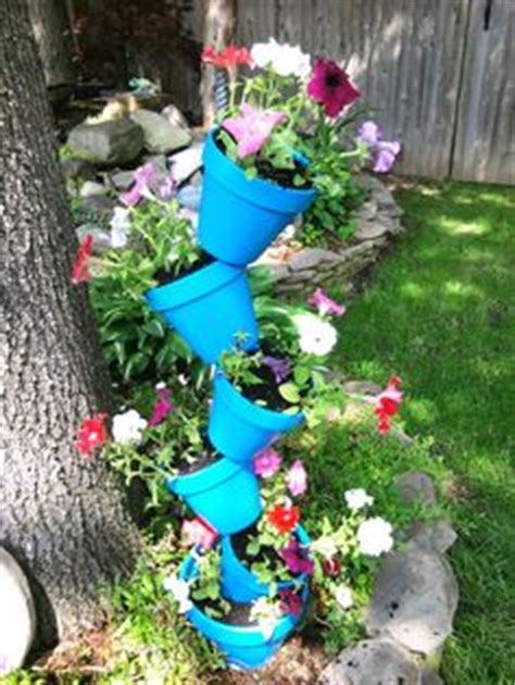 Stacking Pot Pot Susun 5 stacked flower pots diy flower pots