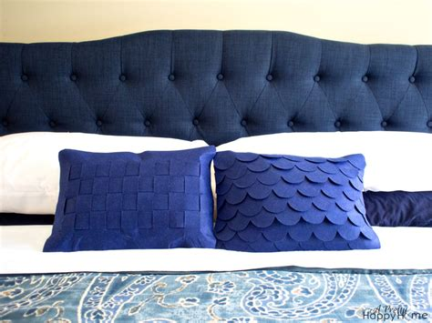 Navy Blue Headboard Navy Blue Headboard A Pretty Happy Home
