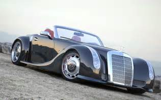 Mercedes Modified 1955 Mercedes 300 Sc Serves As Inspiration For Custom