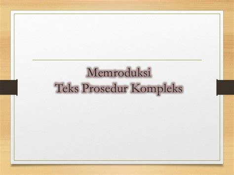 membuat teks prosedur kompleks kartu keluarga teks prosedur kompleks