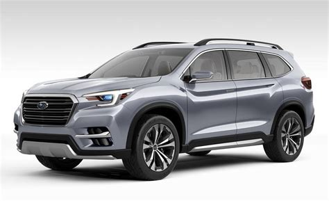 subaru concept truck 2018 subaru ascent suv concept the wheel