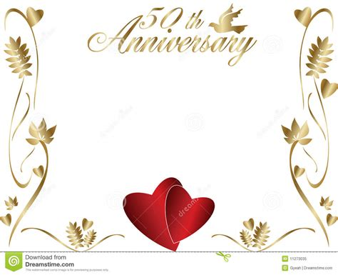 Anniversary Outlined Text Clipart Clipart 50th Wedding Anniversary