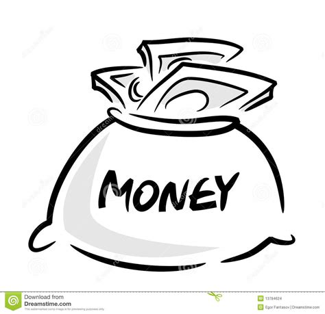 money bag stock images image 13784624