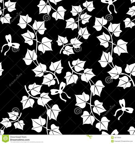 illustrator pattern leaves contrast ivy seamless pattern stock photo image 30770520