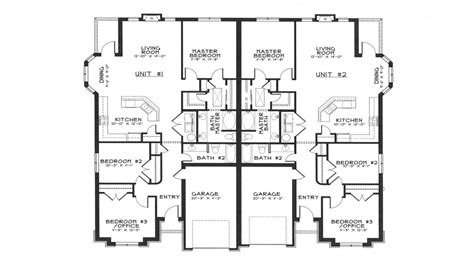 duplex floor plans free modern duplex house plans duplex house designs floor plans