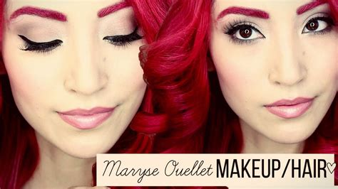 maryse ouellet youtube channel maryse ouellet wwe inspired makeup hair tutorial youtube
