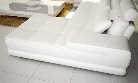 modern leather sectional sofa 5005