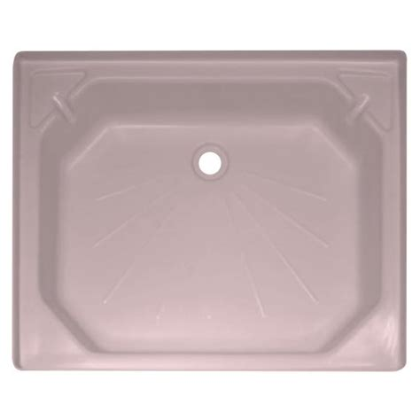 Kepala Shower Toilet Plastik Pink plastic shower tray 24 x 30 wisper pink
