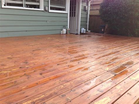 Best Deck Stain do i need to sand my entire deck before staining home