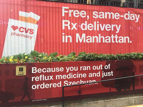 cvs pharmacy brings same day prescription delivery to