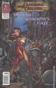 dungeons dragons where shadows fall dungeons and dragons where shadows fall 2003 comic books