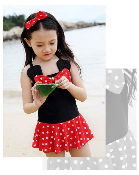 cute toddler girl bathing suits new children cute dot swimsuit kids swimming suits for