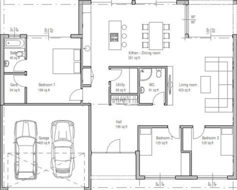 plano de casa de un piso 005jpg plano de casa de un piso y tres dormitorios