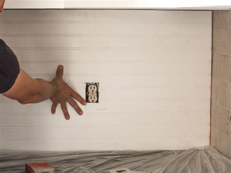 cover   tile backsplash  beadboard hgtv