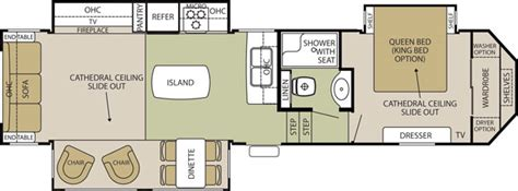 silverback 5th wheel floor plans fifth wheels by forest river forest river inc