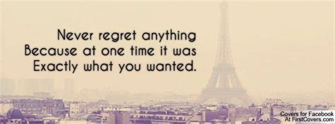 regret     time      wanted facebook quote cover