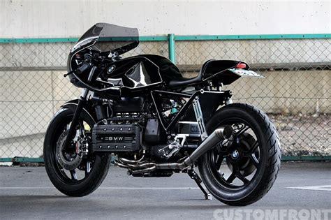 bmw k100rs custom bmw バイク k100rsのカフェレーサーカスタム アンブ カスタムモータース custom front