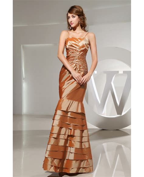 Strapless Floor Length Dress by Mermaid Strapless Floor Length Satin Prom Dress With Beading Op3087 164 3 Gemgrace
