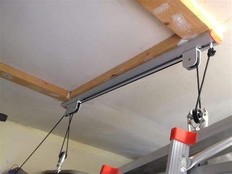 Garage Ladder Storage System by Racor Garage Storage Solutions Tools In Power