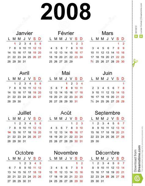 Calendario Octubre 2008 Calendario 2008 Fotografia Stock Immagine 3810872