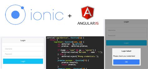 ionic framework tutorial for beginners simple ionic login with angularjs