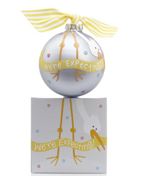 we re expecting personalized ornament